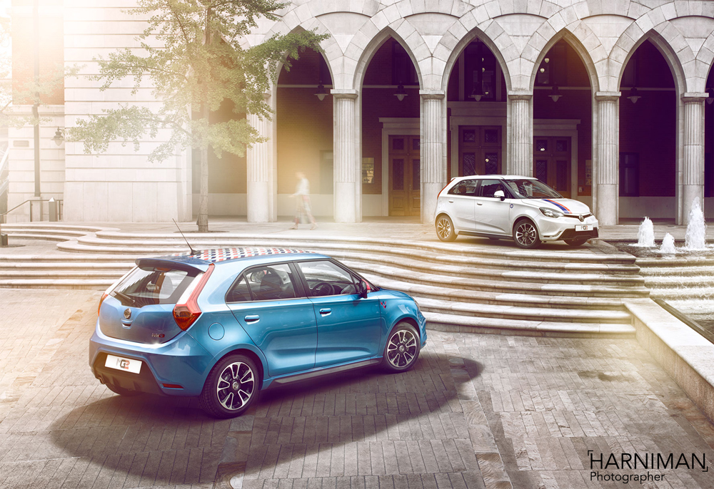 The MG3 Adds a Touch of Mini Magic to Birmingham